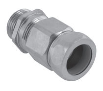 Screw-in fitting / straight / hydraulic