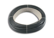 Tubular sleeve / for cables / for electrical cables / PVC
