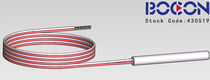 RTD temperature probe / with thermocouple output