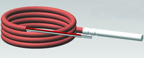 NTC temperature probe / with thermocouple output