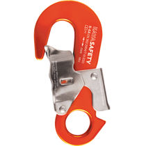 Carabiner / double-action safety / aluminum / asymmetrical