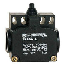 Position switch with safety function / with plunger