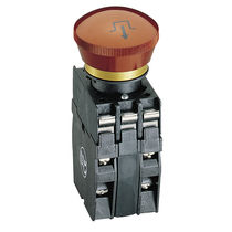 Mushroom push-button switch / emergency stop / IP65