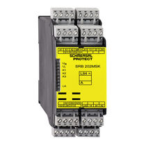 Safety relay / for light curtain / DIN rail