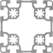 Aluminum profile / rectangular / lightweight / industrial