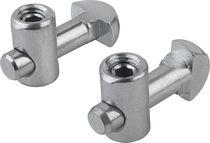 Aluminum profile fastening element / zinc-plated steel