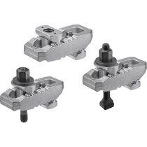Mechanical clamp / manual / steel / adjustable