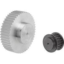 Steel gear wheel