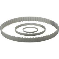 Slotted transmission belt / polyurethane / endless / maintenance-free
