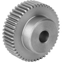 Straight-toothed gear / hub / steel