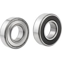 Ball bearing / single-row / steel / with cage