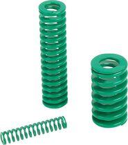 Compression spring / spiral / chrome steel / DIN ISO 10243