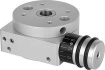 Motor-driven rotary table / horizontal / small / automatic