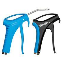 Composite air blow gun / straight nozzle / with extension