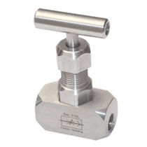 Manual valve / needle / stainless steel