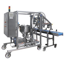 Bottle filling machine / automatic / liquid