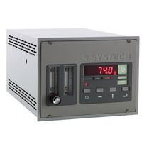 Oxygen analyzer / gas / concentration / benchtop