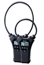 Digital clamp ammeter / portable / flexible / current
