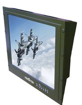 LED backlight monitor / resistive touch screen / LCD/TFT / wall-mount