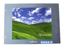 LCD/TFT monitor / rack-mount / 1280 x 1024 / industrial