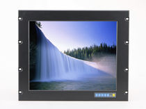 LCD/TFT monitor / touch screen / rack-mount / 1024 x 768