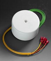 Power transformer / toroidal / for printed circuit boards / single-phase