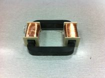 Power transformer / ferrite core / for printed circuit boards / high-frequency