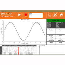 Data acquisition and analysis software / force measurement / for torque measurement / real-time