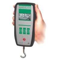 Digital dynamometer / portable / tension/compression / compact