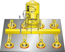 8 pad vacuum lifter for sheet metal max. 3 600 lb | Vac-U-Lift® 3600 series ACCO Material Handling Solutions