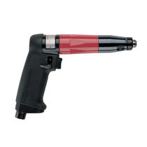 Pistol air screwdriver / torque limiter / with shut-off clutch