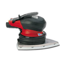 Pneumatic sander / orbital / low-vibration / palm