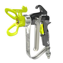 Spray gun / for paint / manual / airless