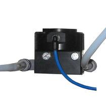 Diaphragm flow regulator / for paint / precision