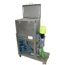 Automatic washer / immersion / compact / rinsing