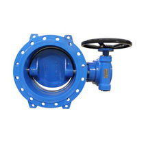 Butterfly valve / with handwheel / for potable water / for seawater