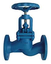 Cast iron valve / globe / with handwheel / for steam