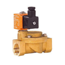 Pilot-operated solenoid valve / 2/2-way / NC / NO