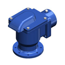 Air relief valve / for water systems / flange