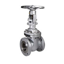 Gate valve / with handwheel / petroleum / flange
