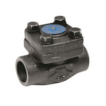 Wrought steel check valve / ball / lift / weld