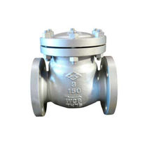 Swing check valve / flange / for water / for oil industry applications