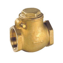 Brass check valve / swing / threaded