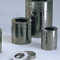 Expanded graphite packing sealing ring