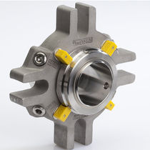 Cartridge mechanical seal / for centrifugal pumps / carbon / granite