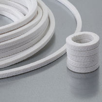 Braided aramid packing / high resistance / for the paper industry / for the food industry
