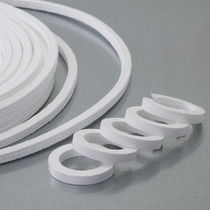 Braided PTFE packing / chemical-resistant / for the chemical industry / for valves
