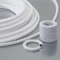 Braided PTFE packing / carbon / for valves