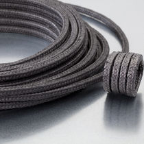 Braided graphite packing / PTFE / carbon / carbon fiber-reinforced