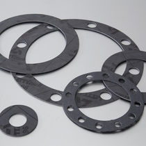 Carbon gasket sheet / aramid / flange / for chemical applications